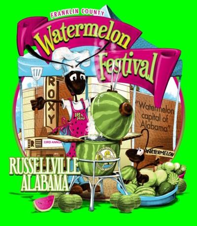 Watermelon Festival || Russellville, AL || www.terilynneunderwood.com/blog