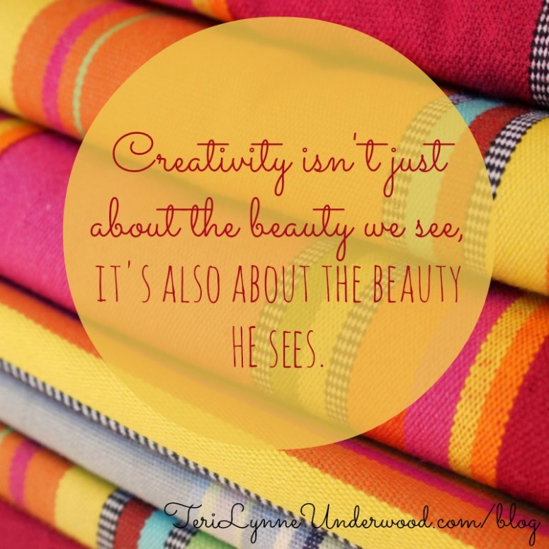 encourage creativity in yourself || 31 Days of Living Well || TeriLynneUnderwood.com