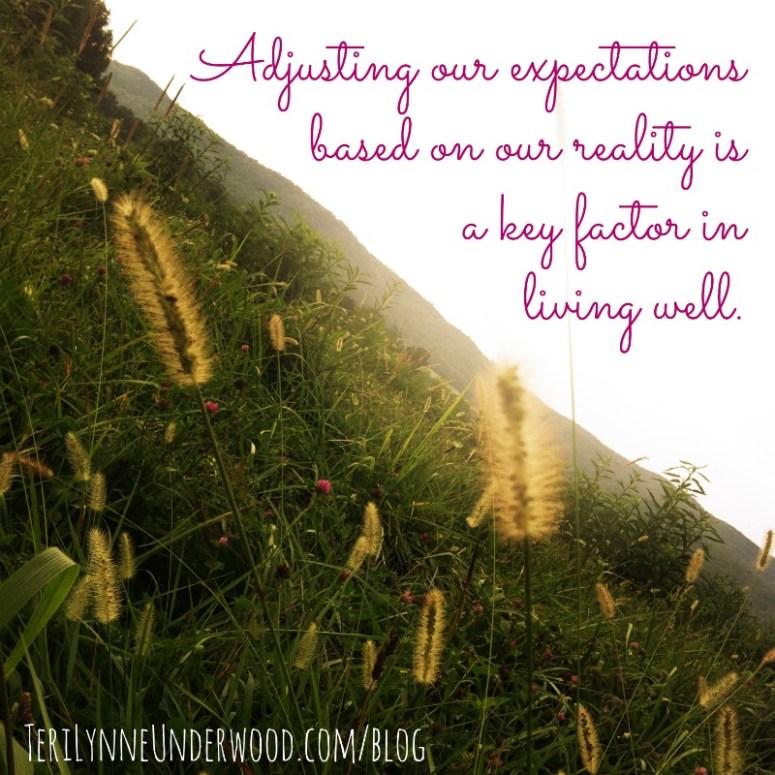 establishing priorities is a key factor in living well. || 31 days of living well || TeriLynneUnderwood.com/blog