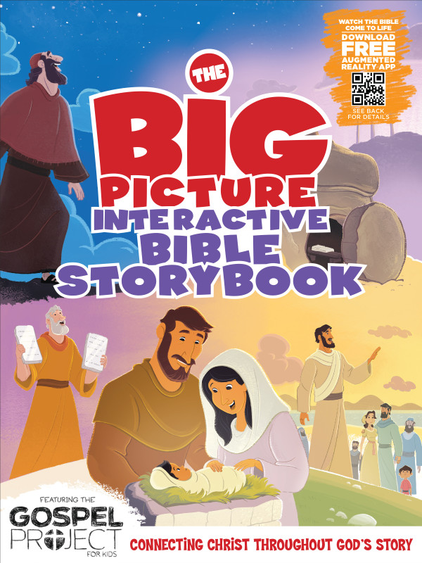 The Big Picture Bible Storybook review || TeriLynneUnderwood.com