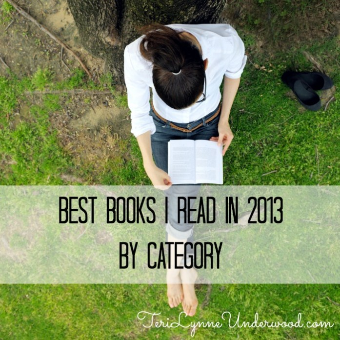 best books I read in 2013 by category || TeriLynneUnderwood.com