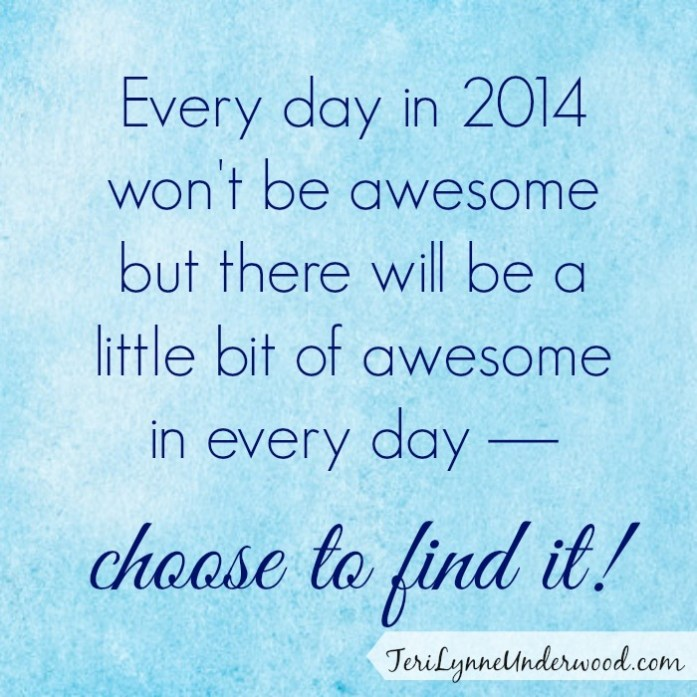 Find the Awesome in Every Day ||Teri Lynne Underwood for AlabamaWomenBloggers.com