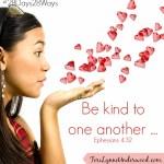 Speak Kind Words || TeriLynneUnderwood.com