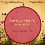 #PrayersforGirls based on Lamentations 3:24 ... TeriLynneUnderwood.com