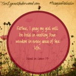#PrayersforGirls based on James 1:5 ... TeriLynneUnderwood.com