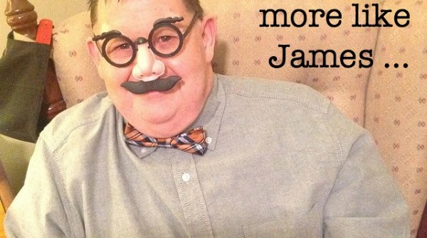 Maybe we all need to be more like James ...