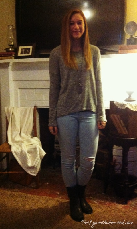 What I Wore Wednesday {teenage girls fashion}
