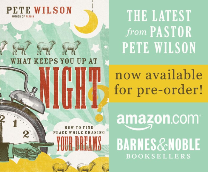 What Keeps You Up at Night by Pete Wilson