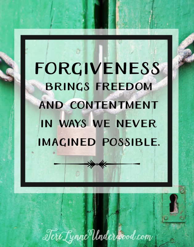 Lack of forgiveness can lead to physical, emotional, and mental impacts. But the most serious are the spiritual consequences we endure when we fail to forgive.