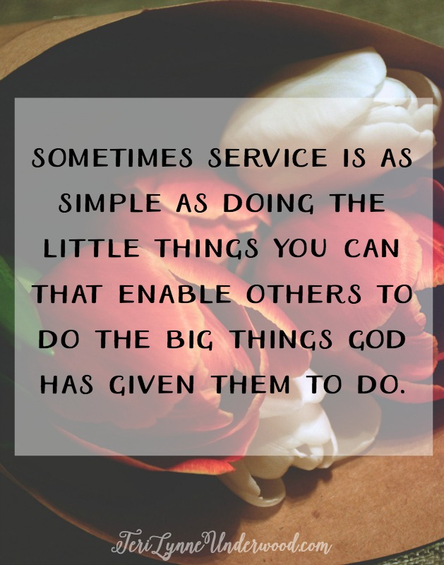 When we serve others, we must have the mindset of Jesus — a decision to lay down our rights and privilege for the sake of the Master, trusting in Him to provide for us. Counter cultural service places the interests of God and His kingdom above our own