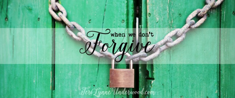 What happens when we don't forgive? Understanding the real consequences of unforgiveness in the life of a believer.