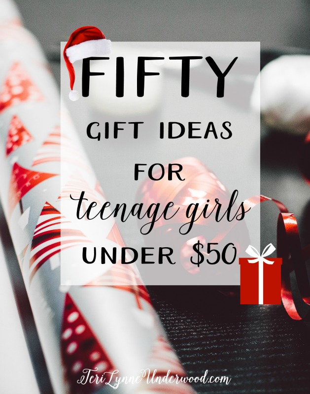 Looking for a gift for the teenage girl on your list? Here are 50 ideas ...