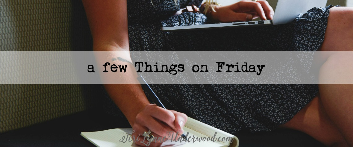 a few things on Friday {November 13, 2015}