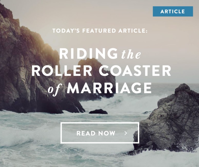 Riding the Roller Coaster of Marriage: 4 Ways to Stay Grounded    Teri Lynne Underwood for Dayspring.com