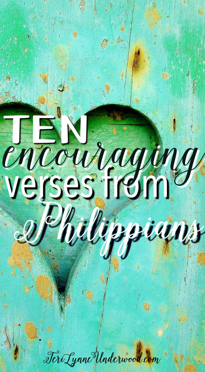 10 encouraging verses from one of the most familiar books in the New Testament