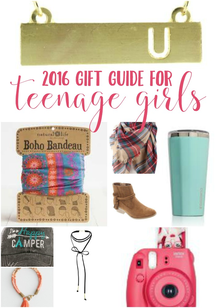 2016 Gift Guide for Teenage Girls ... over 100 ideas at every price point. Something for every teenage girl on your list!