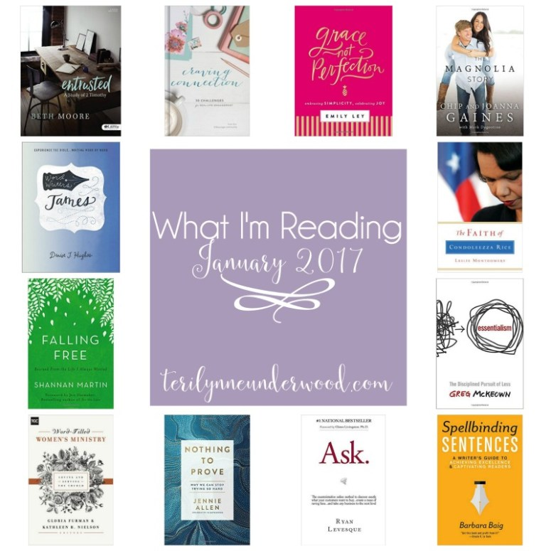 What I'm Reading — Christian Living, biography, writing, Bible studies, and what it's in my Amazon cart!