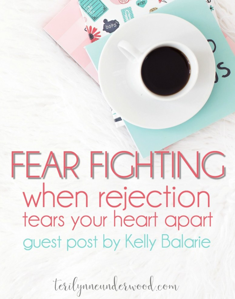 How do you respond when rejection comes? Kelly Balarie's new book, Fear Fighting, offers encouragement for all of us who have felt the sting of rejection.