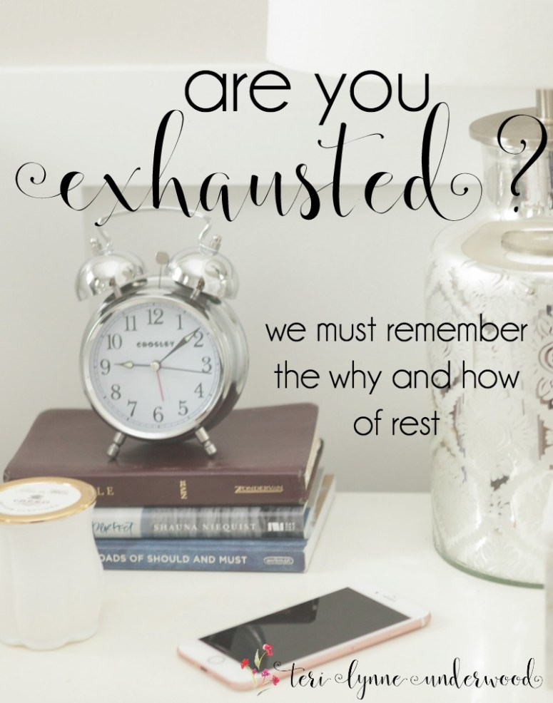 Are you exhausted? What if the truest rest begins with orienting ourselves away from the demands of the world and toward devotion to the Lord?