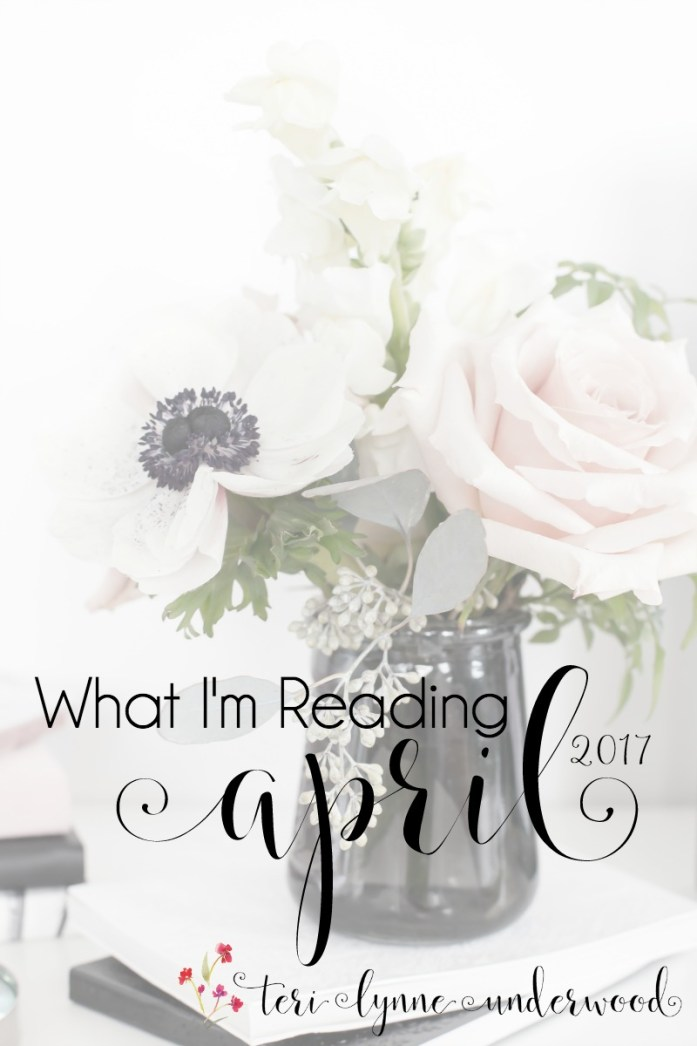 Looking for your next Bible study? Or a good book on marriage? Or maybe a book for your daughter? I've got all that & more in What I'm Reading this month.