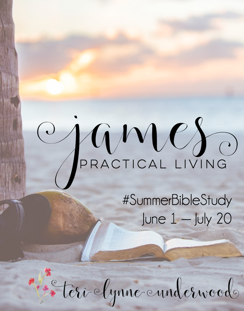 Join Teri Lynne Underwood for a #SummerBibleStudy on the Book of James. June 1—July 20. Let's dig into this little book full of insight an instruction about practical living.