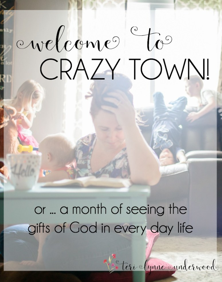 When life is crazy, one of the most important things we can do is NOTICE. Seeing the gifts of God in every day life is a key to lopsided living.