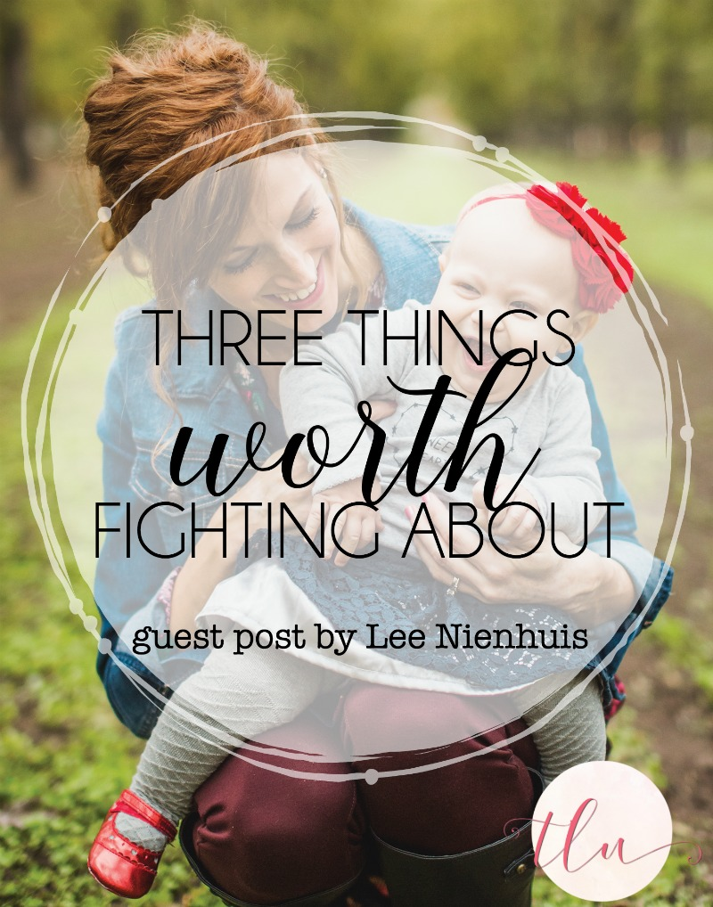 Lee Nienhuis, author of Brave Moms, Brave Kids, challenges us to fight for the things that matter in our children's lives. #BraveMomsBraveKids