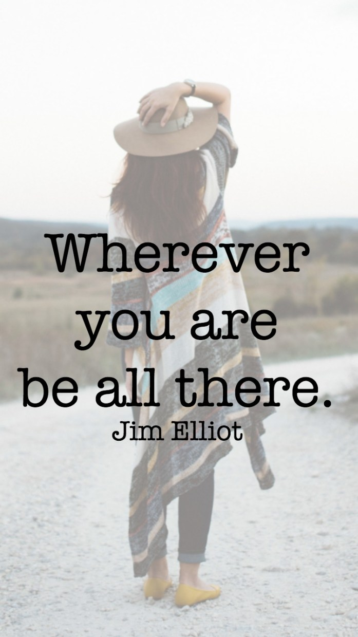 Jim Elliot quote lockscreen