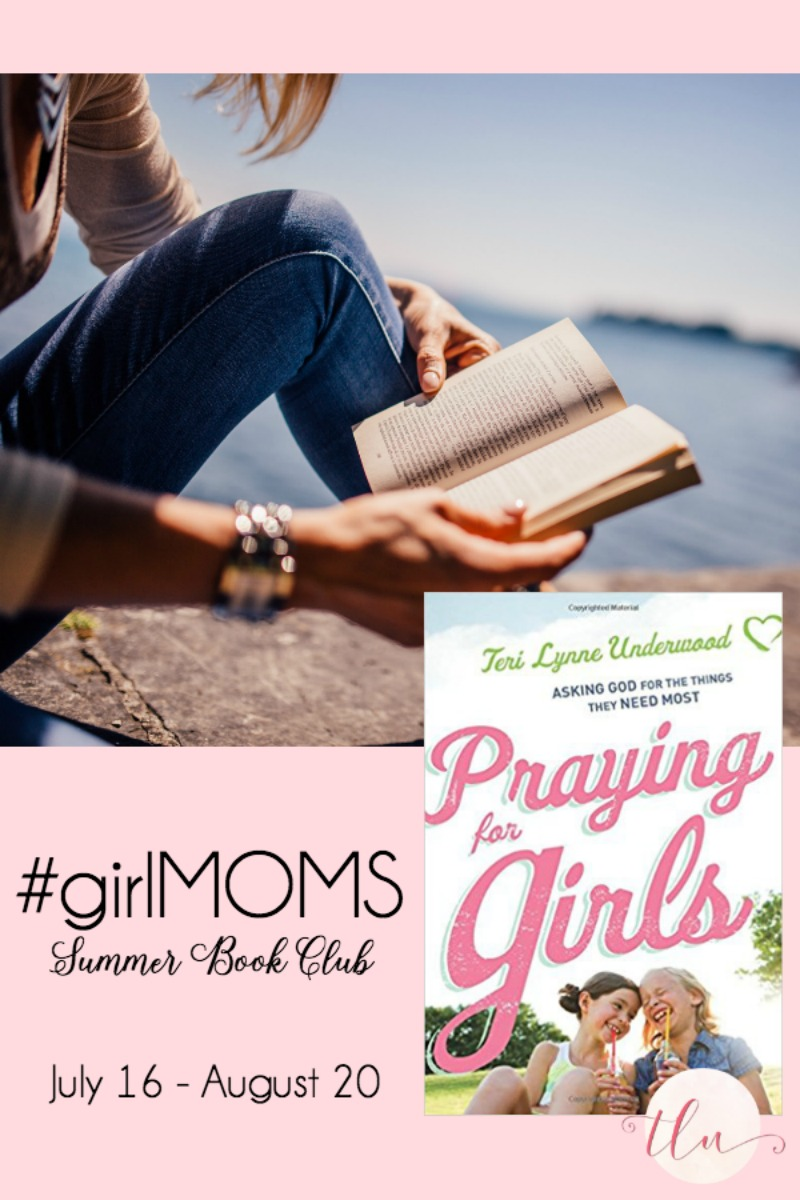 "Join the first #girlsMOMS book club as we read ""Praying for Girls: Asking God for the Things They Need Most."" Sign up here: bit.ly/girlmomsbookclub"
