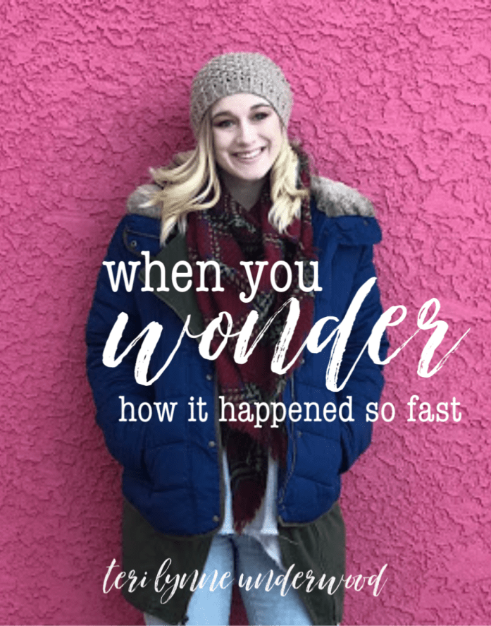 Here's the truth, the wonder of it all, as far as I can tell — God fills in ALL our gaps. He knows the places we fail, the weaknesses we bring to the parenting table ... and we can trust His able and He is enough. Even when we are so desperately aware we are not either of those.