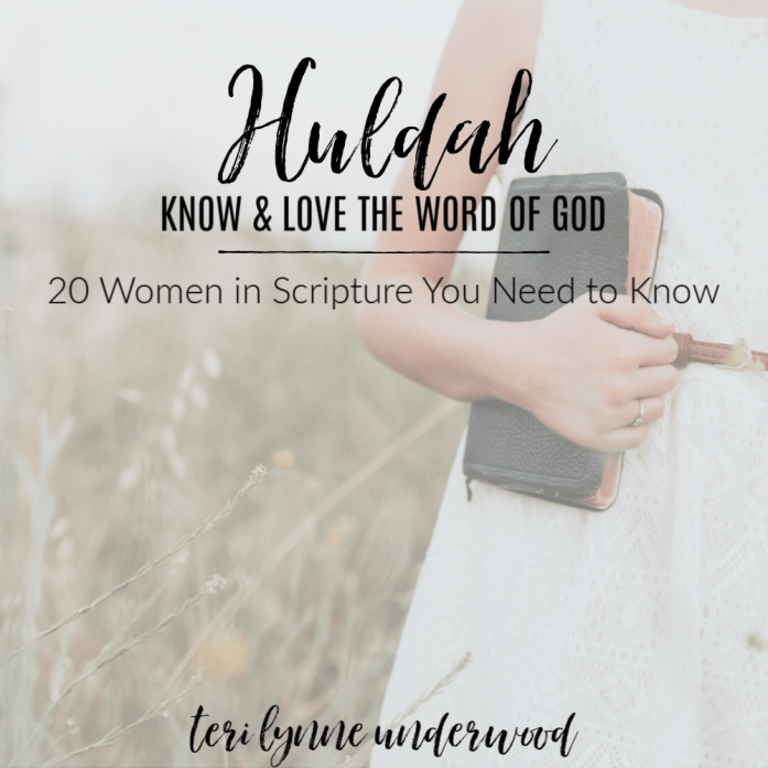 Huldah: Know & Love the Word of God || 20 Women in Scripture You Need to Know  Huldah's life reveals an important truth for all of us, men and women alike.  It is not our education, experience, or title that qualifies us for service in the Kingdom — it is our desire to serve and be obedient to Him