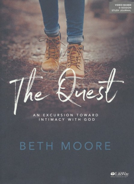 The Quest by Beth Moore is a great tool for kicking off the new year!