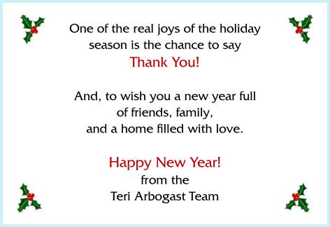 Happy new year Davie real estate team
