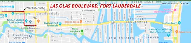 Davie to Las Olas Boulevard