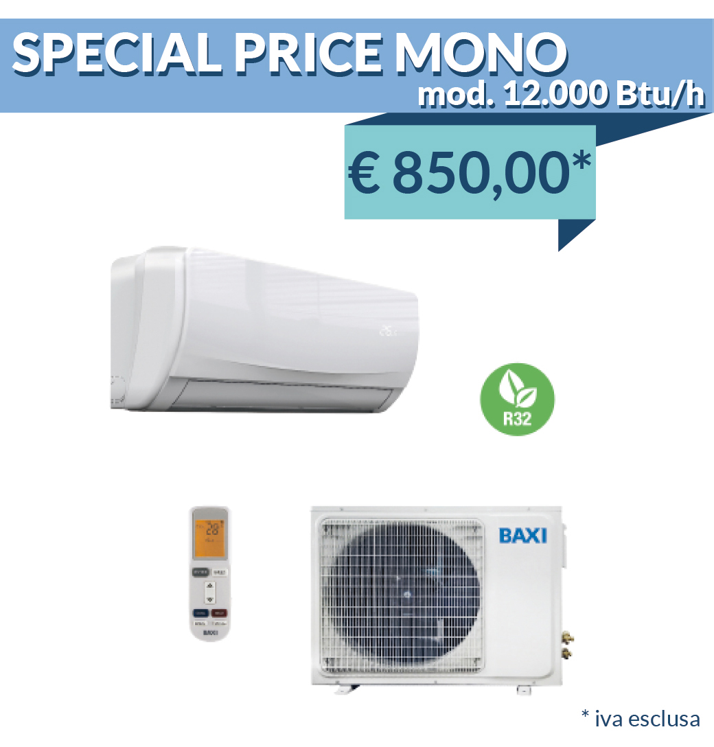 Baxi Moonlight Mono Split