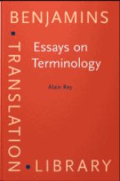 Essays on Terminology