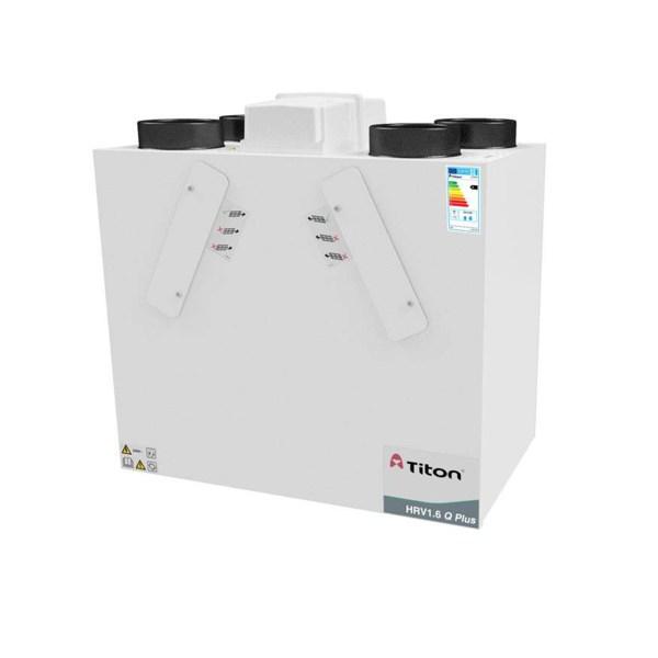 Rekuperatorius TITON HRV1.6 Q Plus BCF Eco kairinis • Termomisija.lt Oro kondicionieriai, šilumos siurbliai. Montavimas, prekyba, priežiūra