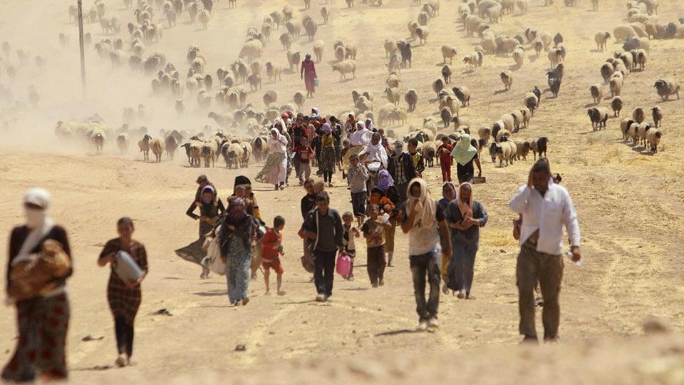 Effetto serra, effetto guerra: le migrazioni