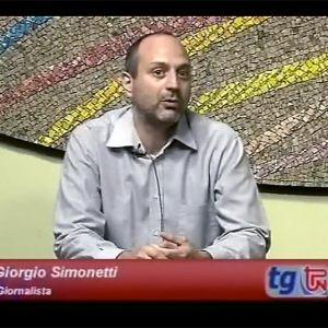 Giorgio Simonetti negli studi di Telepordenone