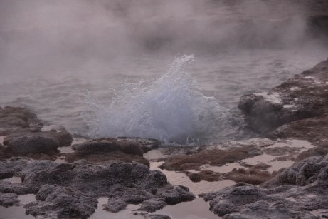 Águas borbulhantes