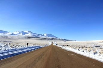 A estrada fantástica que descobrimos no retorno dos Gêiseres