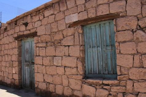 Casinha de adobe em Toconao