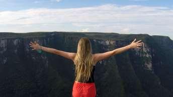 A sensação de liberdade é indescritível...