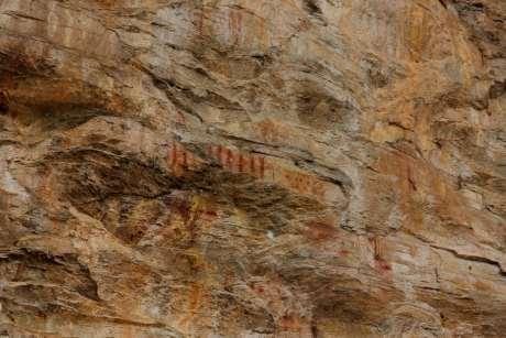 Repare nas pinturas que representam a contagem...