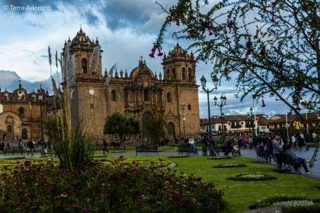 A belíssima Plaza de Armas