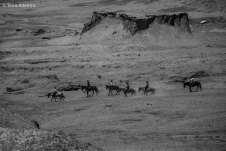 Cavalheiros em meio ao Deserto mais alto e seco do mundo