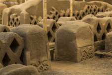 Algumas das obras da ruína de Chan-Chan