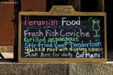 O famos Ceviche Peruano