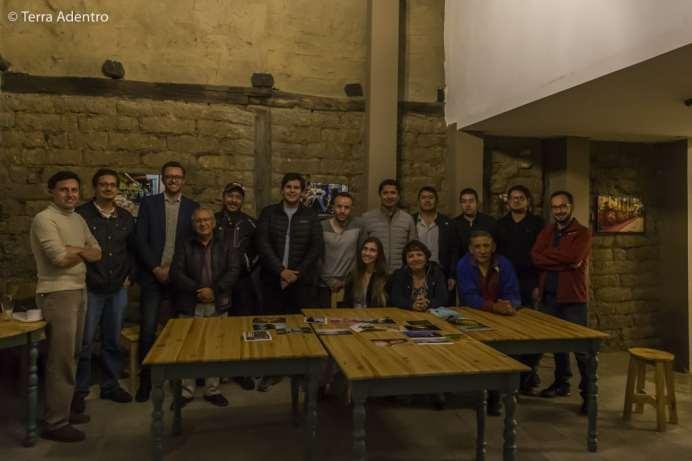 Com os amigos do Foto Club Cuenca.