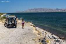 Nos despedindo do sul da Baja Califórnia